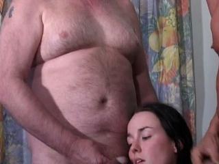 oma wordt geneukt door opa